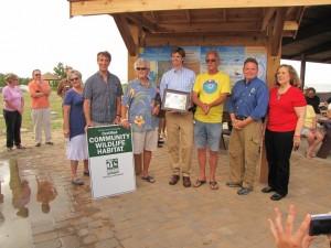 Certified Community WIldlife Habitat